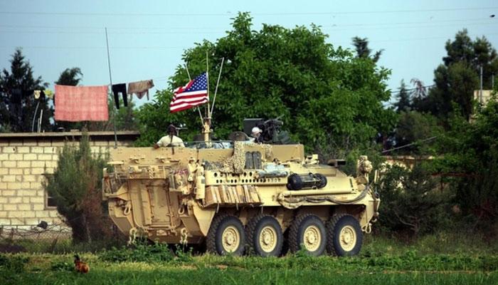 امریکی فوج نے شام میںبڑا فوجی اڈا خالی کردیا