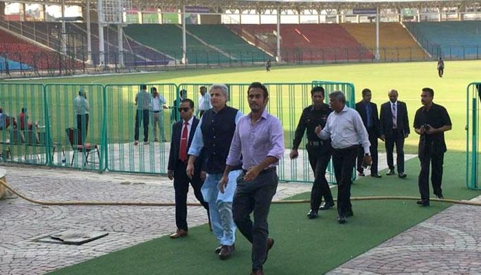 کرکٹ بنگلہ دیش سیکورٹی وفدکا انتظامات پر اظہاراطمینان
