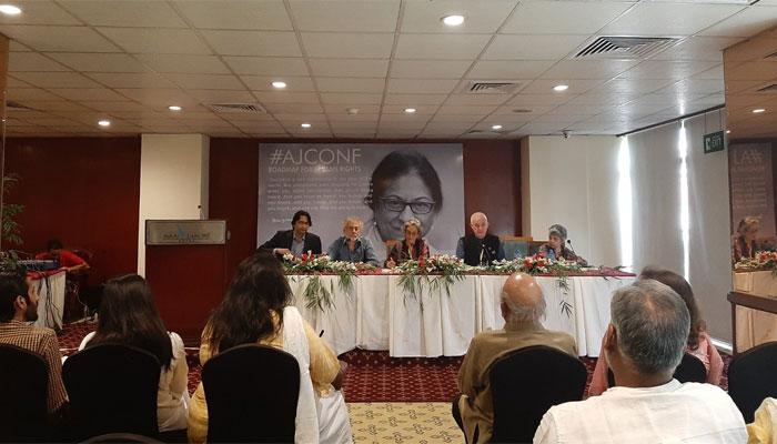 ہزاروں افرادکاعاصمہ جہانگیرکےمشن کوآگےبڑھانےکاعزم،3روزہ کانفرنس