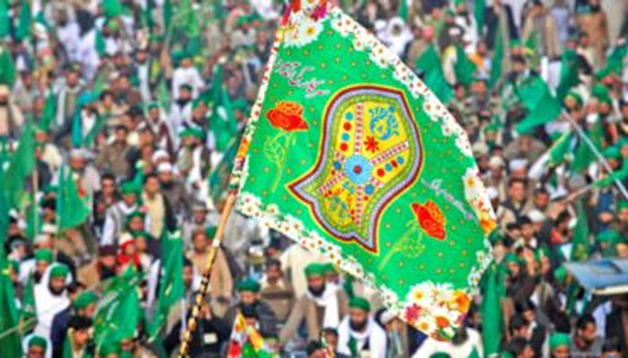 بلدیہ اعلیٰ کے زیر اہتمام جشن میلاد النبی کے سلسلے میں پرچم کشائی