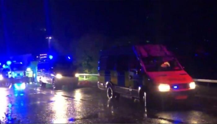ولٹ شائر میں ٹرک میں چھپے ہوئے 15 تارکین وطن گرفتار