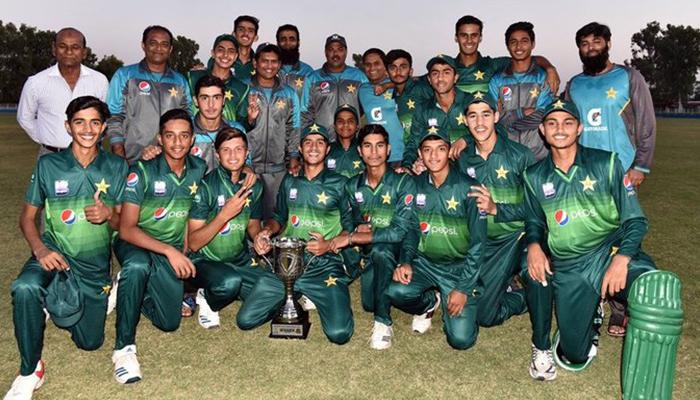 پاکستان نے بنگلہ دیش کے خلاف انڈر16کر کٹ سیریز جیت لی