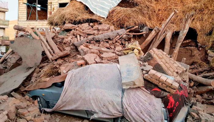 ایران میں شدید زلزلے سے 5افراد ہلاک، سیکڑوں زخمی