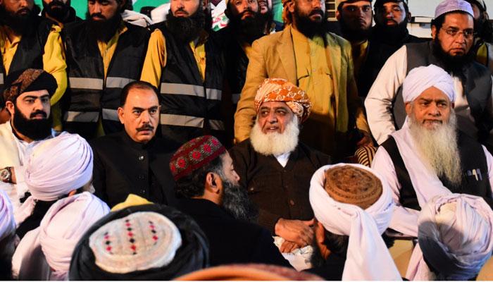 انگوٹھا چھاپ اسمبلیوں کو تسلیم نہیں کرینگے، مولانا فضل الرحمٰن
