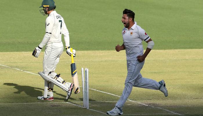 ٹیسٹ ٹیم میں شمولیت کے امیدوار، عمران خان نے تباہی پھیلادی، آسٹریلیا اے 122 پر فارغ