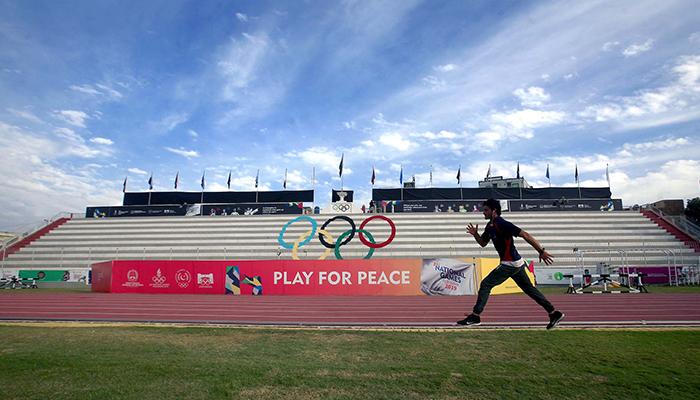 قومی گیمزمیں آرمی کی برتری،سوئمنگ مقابلوں پر اعتراض