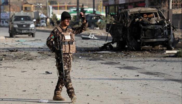 افغان وزارت داخلہ کے قریب کار بم حملے میںمتعدد افراد ہلاک
