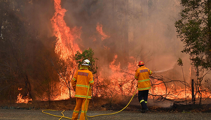 آسٹریلیا میں جنگلاتی آگ، شہریوں کو نقل مکانی کی ہدایات
