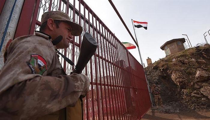 عراق نے ایران سے ملنے والی سرحدی گزرگاہ عوام کیلئے بند کر دی
