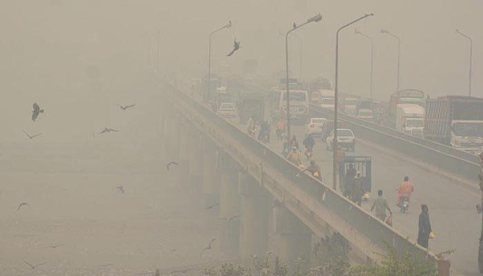 سموگ:پنجاب حکومت کا کل سے مختلف شہروں میں اینٹوں کے بھٹے بند کرنیکا فیصلہ