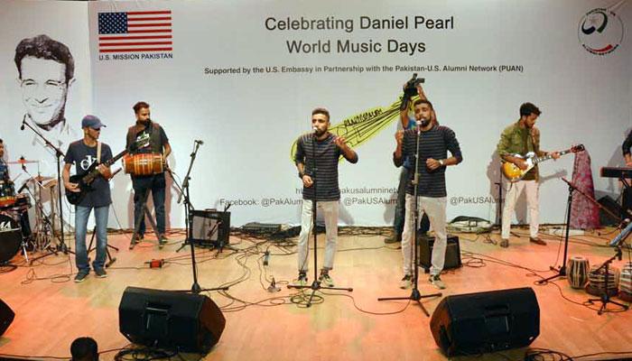 ڈینیئل پرل کی یاد میں میوزک کنسرٹ کا انعقاد