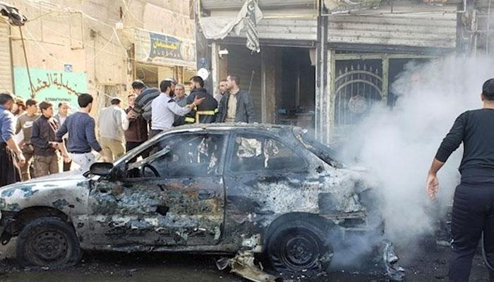 شام ،کار بم دھماکے میں 19افراد جاں بحق