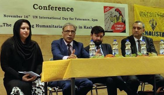 عالمی برادری مقبوضہ کشمیر میں انسانی حقوق کی پامالیاں بند کروانے کیلئے کردار ادا کرے، علی رضاسید
