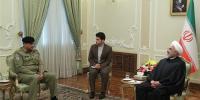 آرمی چیف کی ایرانی صدر سے ملاقات