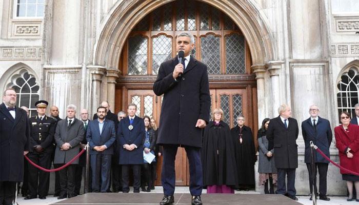 لندن برج حملے میں ہلاک شدگان کی یاد میں وجل کا اہتمام،جانسن،کوربن اور صادق خان کی شرکت