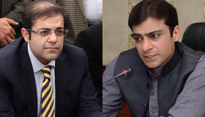 لاہور ہائیکورٹ، اثاثے منجمد کرنے کیخلاف حمزہ اور سلمان شہباز کی درخواستیں مسترد