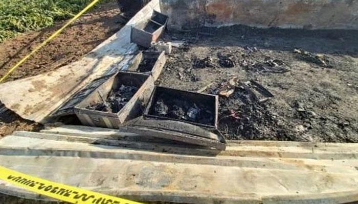 اردن، گھر میں آگ لگنے سے 8 بچوں سمیت 13 پاکستانی زندہ جل گئے