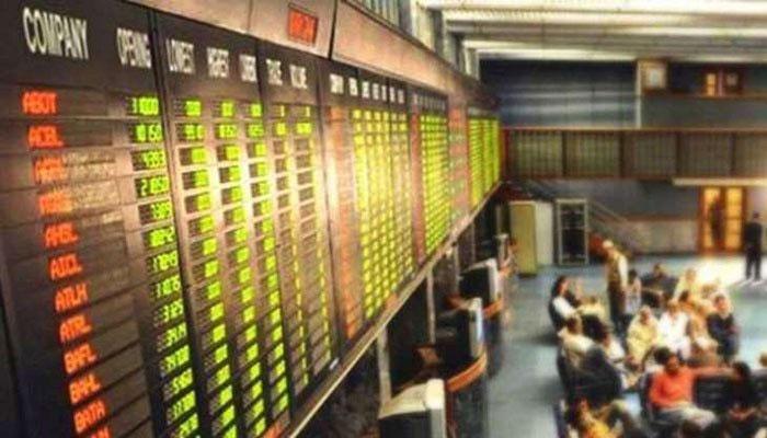 اسٹاک مارکیٹ میں مندی،100انڈیکس 335پوائنٹس کم ہوگیا