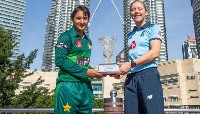 خواتین کرکٹ: پاکستان اور انگلینڈ آج پہلے ون ڈے میں مدمقابل