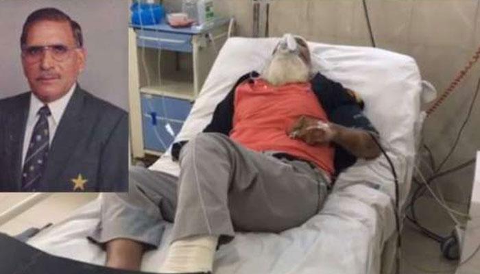 سابق ٹیسٹ کرکٹر نذیر جونئیر فالج  اٹیک کے باعث ہسپتال داخل