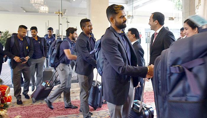 حوصلہ خوف پرغالب،سری لنکن ٹیم کی آمد،کرکٹ جیت گئی،اسلام آبادمیں پرتپاک خیرمقدم