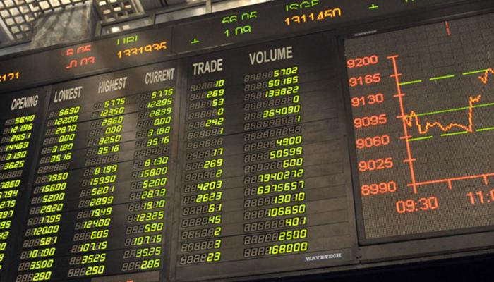 اسٹاک مارکیٹ میں تیزی،100انڈیکس 222پوائنٹس بڑھ گیا