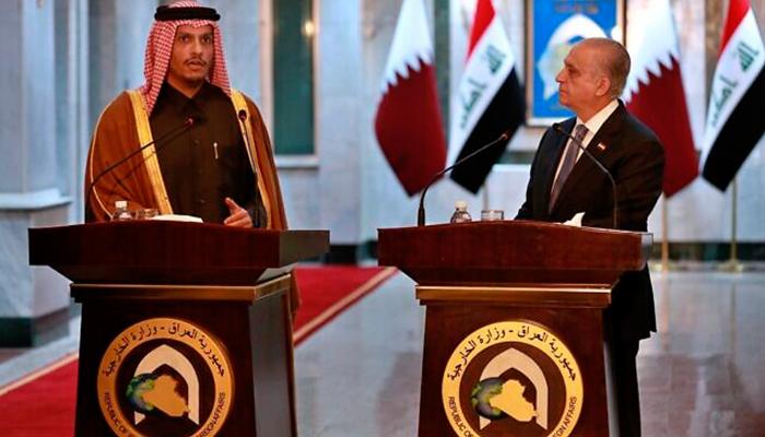 ایران امریکا کشیدگی میں کمی کے لیے قطر کی طرف سے ثالثی کی کوششیں