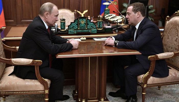 روسی وزیراعظم اور کابینہ مستعفی