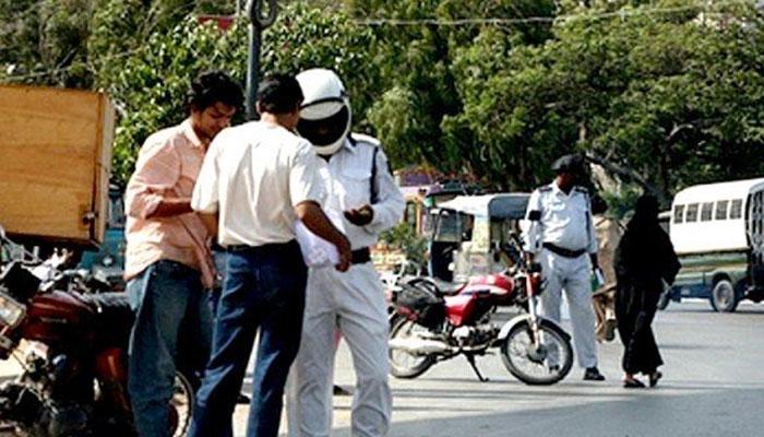 ون وے کی خلاف ورزی، مزید 224 افراد گرفتار