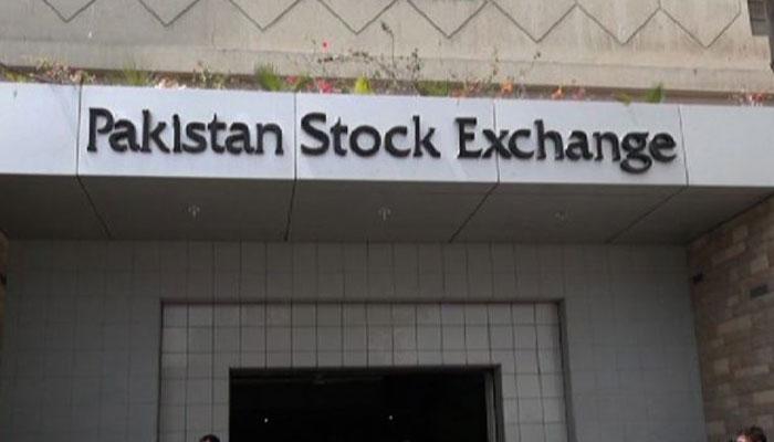 اسٹاک مارکیٹ، مندی برقرار، 100 انڈیکس مزید 121 پوائنٹس کم ہوگیا