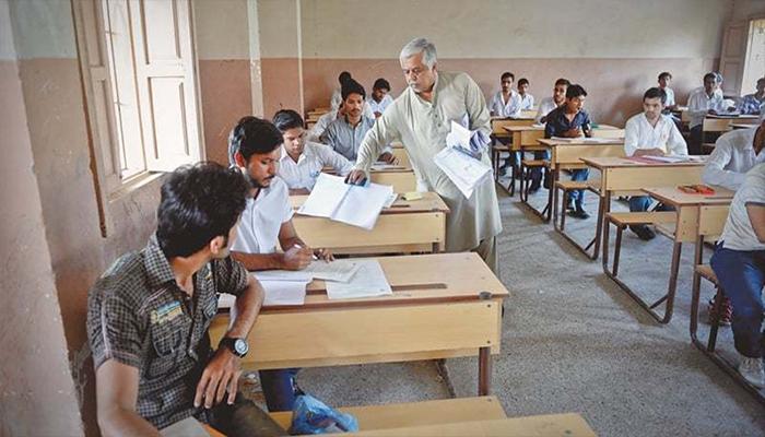امتحانی کاپیوں کی جانچ پڑتال کیلئے اساتذہ کی رجسٹریشن