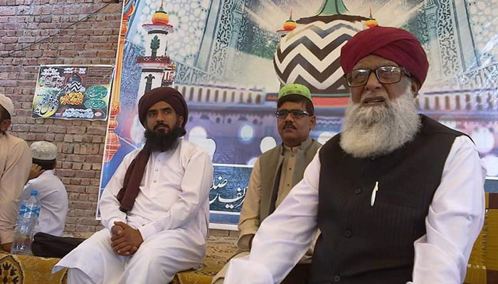 سید وجاہت رسول قادری کی نماز جنازہ میں معروف علما کی شرکت