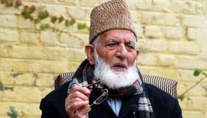 حریت رہنما سید علی گیلانی کی وفات کی خبروں کی تردید، طبیعت شدید ناساز