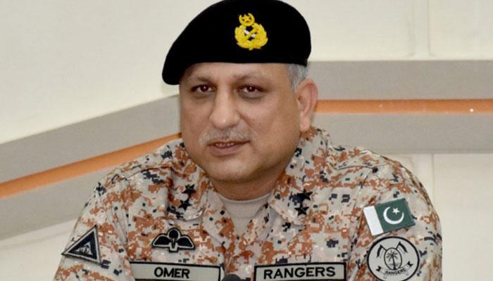 امن وامان کے حوالے سے رینجرز (سندھ) ہیڈکوارٹرز میں اجلاس
