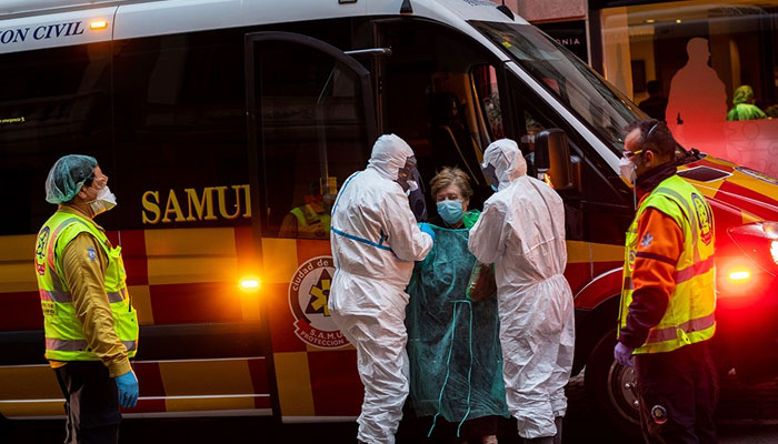 اسپین، کورونا وائرس سے متاثر ہونے والے ڈاکٹرز کی تعداد 15 ہزار ہوگئی