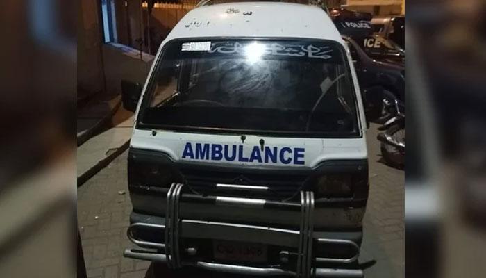 جعلی ایمبولینس نقلی مریض، بلوچستان سے کراچی گٹکا سپلائی کا  دھندا