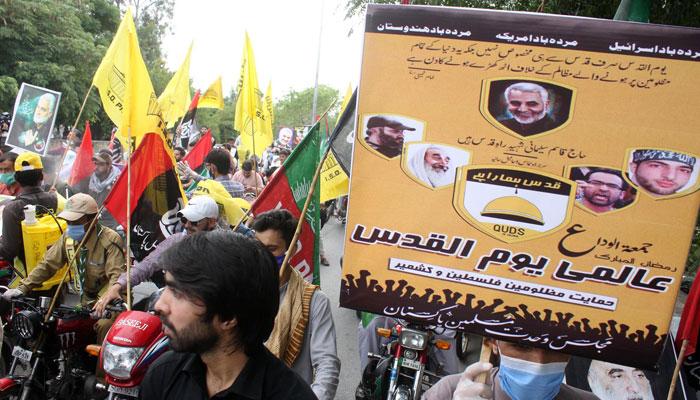 مجلس وحدت مسلمین نے یوم القدس منایا، ریلیاں نکالی گئیں