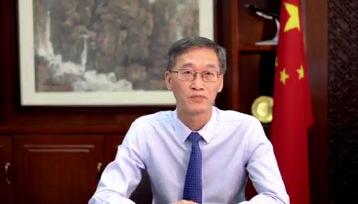 چینی سفیر کا افغان مہاجرین کیلئے 8000 فوڈ پیکس کا عطیہ