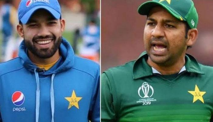 انگلینڈ کے دورے میں سابق کپتان سرفراز احمد اور محمد رضوان وکٹ کیپر کی حیثیت سے جائیں گے