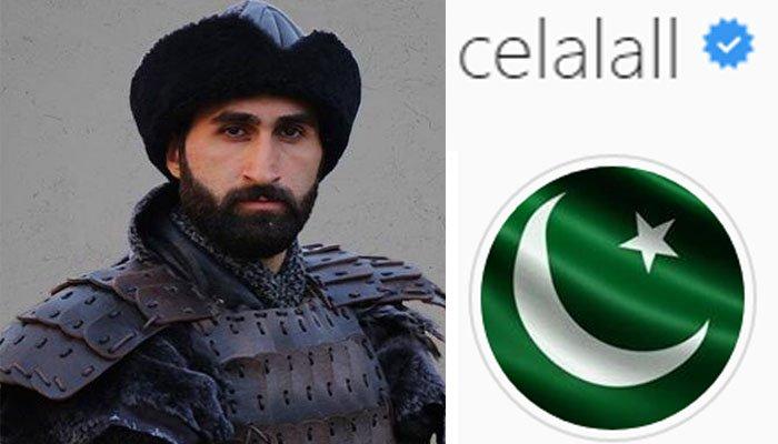 طیارہ حادثہ، ارطغرل غازی کے سپاہی سیلال نے پروفائل پر پاکستانی پرچم لگا دیا