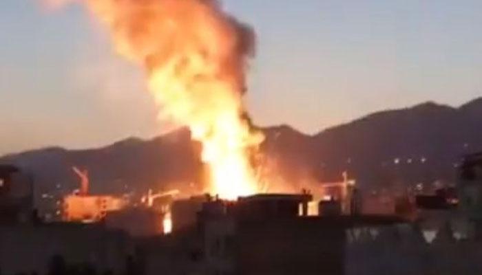 ایران، کلینک میںگیس سلنڈر دھماکے سے 19 افراد ہلاک