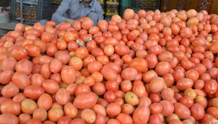 ایران سے ٹماٹرکی درآمد پر پابندی عائد، قیمت دگنی ہوگئی