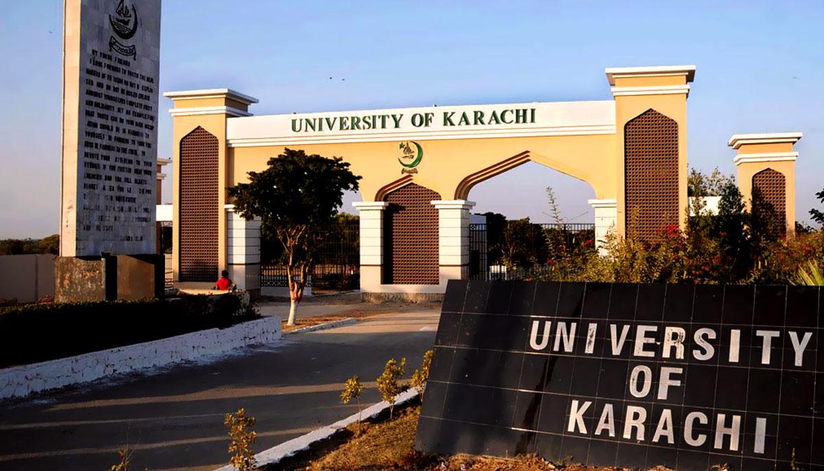 جامعہ کراچی کے شعبہ جرمیات میں چوری
