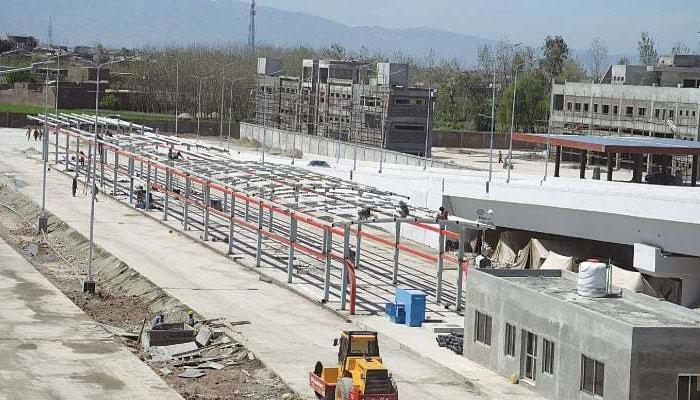 پشاور BRT تعمیر کرنیوالی کمپنی نے تین میگا پراجیکٹس حاصل کرلئے