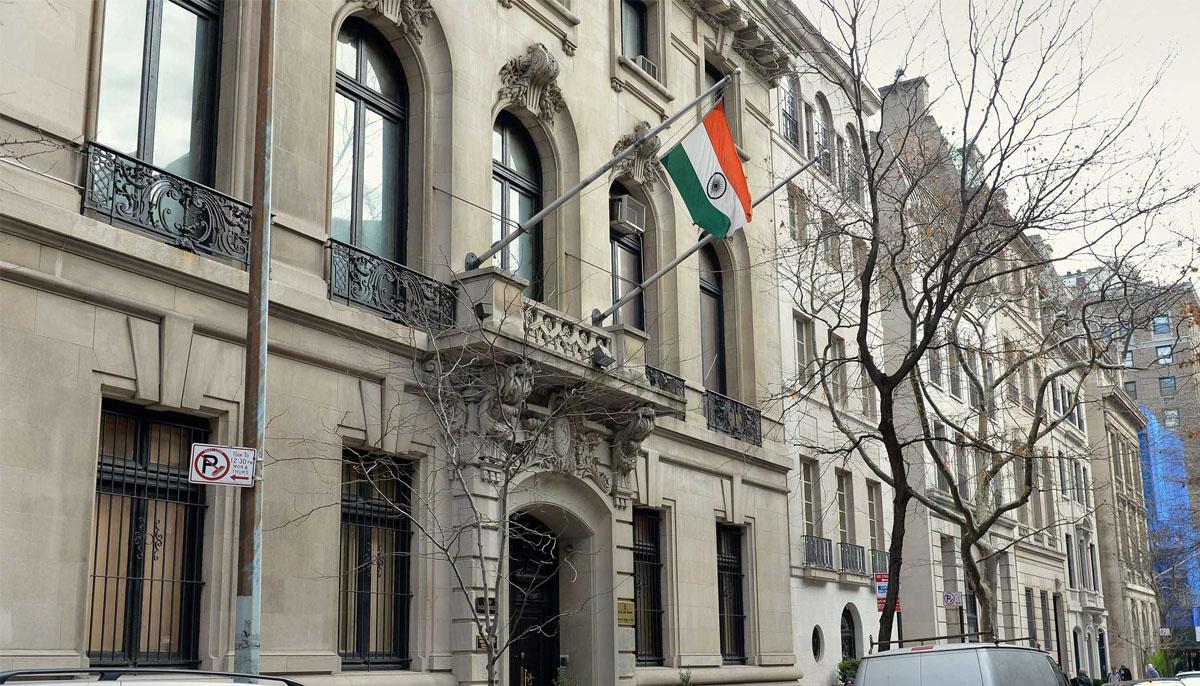 لندن:کشمیری و پاکستانی کمیونٹی کا بھارتی ہائی کمیشن پر احتجاج
