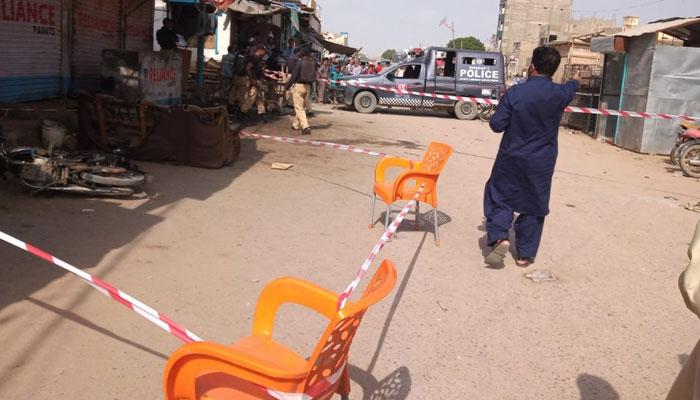 ضیاکالونی، جائیداد کے تنازع پر دستی بم حملے میں 3 افراد زخمی