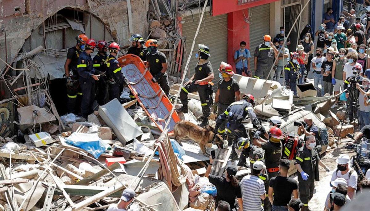 بیروت دھماکوں میں ہلاک افراد کیلئے دعائیہ تقریب کا انعقاد