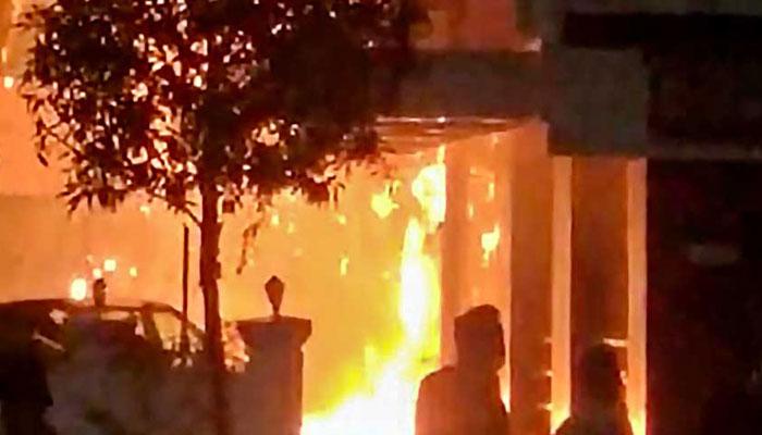 بھارت، کورونا مرکز میں آگ لگنے سے 11مریض ہلاک
