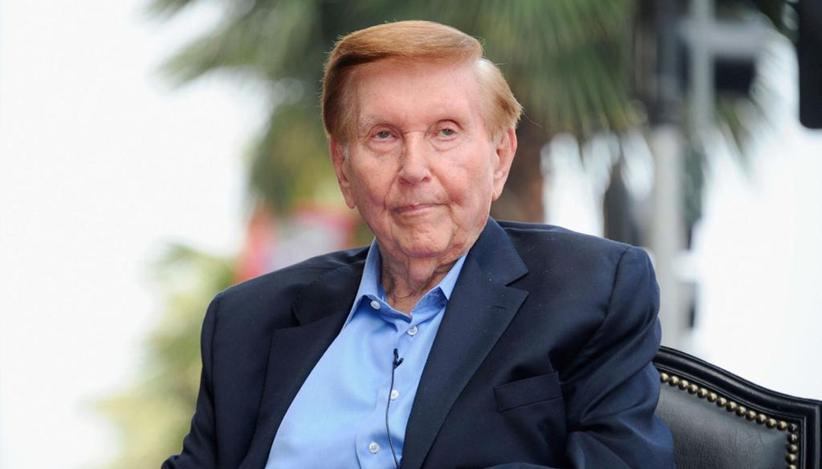 امریکی میڈیا ٹائیکون سمنر ریڈ اسٹون 97 سال کی عمر میں انتقال کرگئے