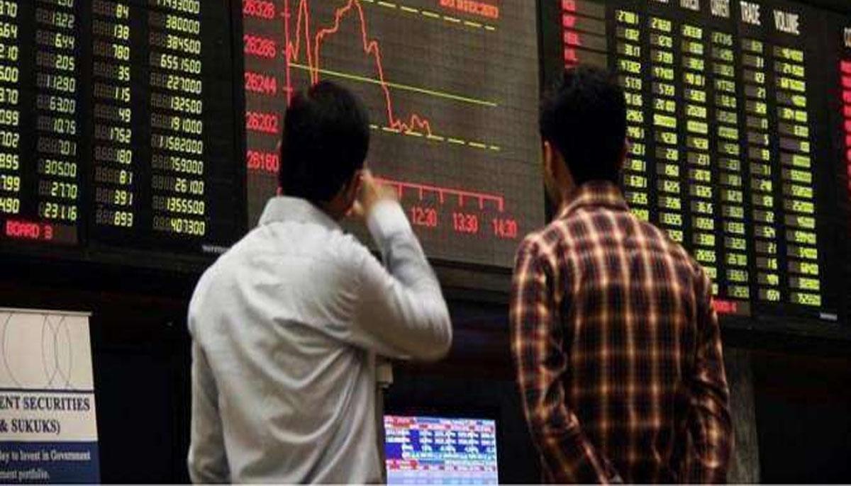 اسٹاک مارکیٹ،منافع کے حصول کیلئے فروخت کا دبائو،86؍پوائنٹس کم